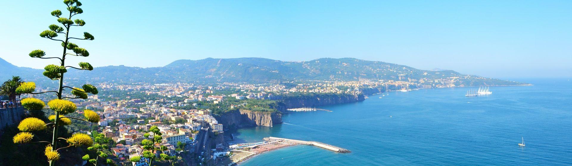 Drivinaples Sorrento Amalfi Coast  Tour Shore Excurision